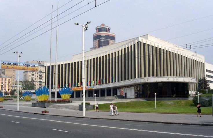 """Національний палац мистецтв """"Україна"""", м.Київ 2008-2009р."""