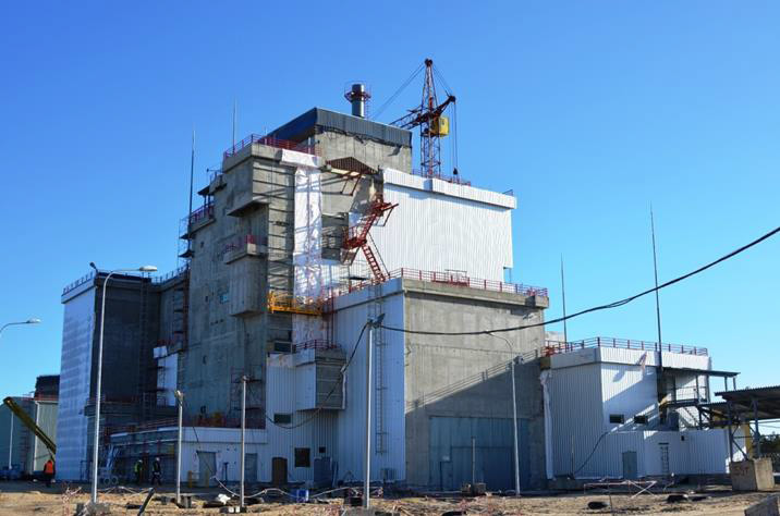 """Проміжне сховище відпрацьованого ядерного палива сухого типу """"ХОЯТ-2"""", м.Прип""""ять 2015р."""